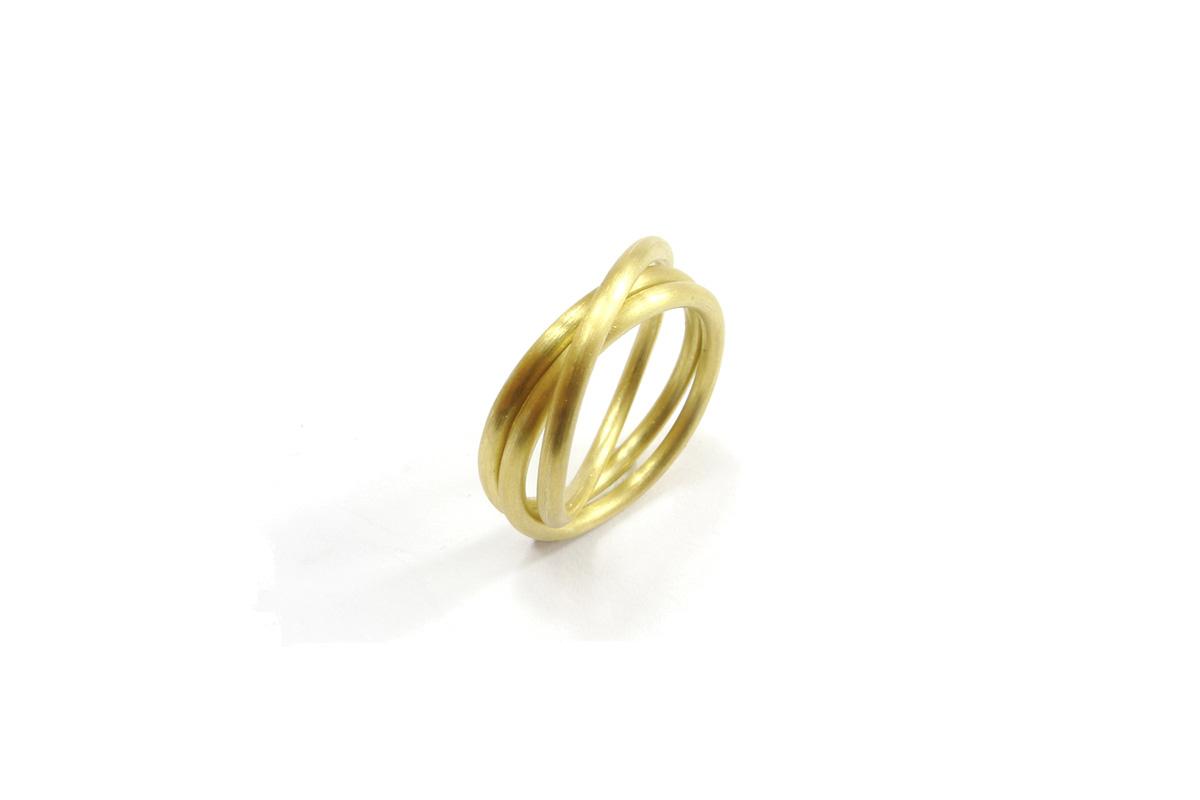 WeddingRing_Chain_YG.750°°°