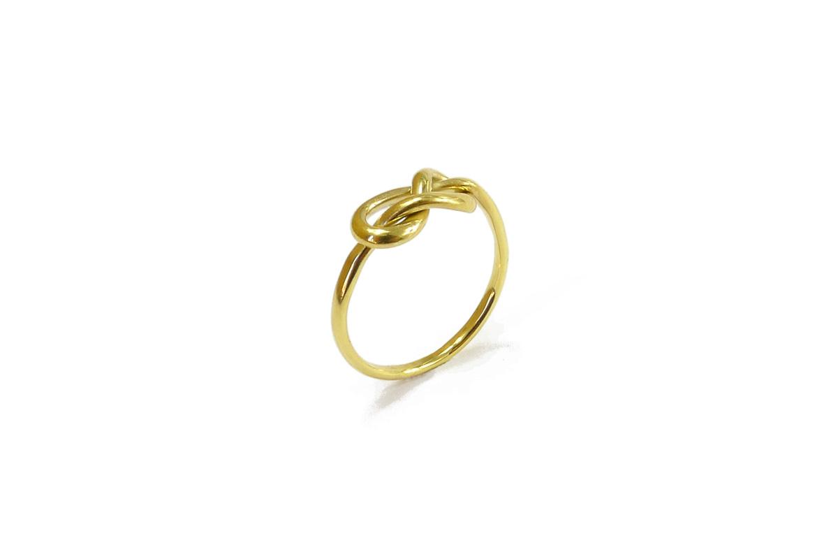 WeddingRing_Knot.Endless_YG.750°°°
