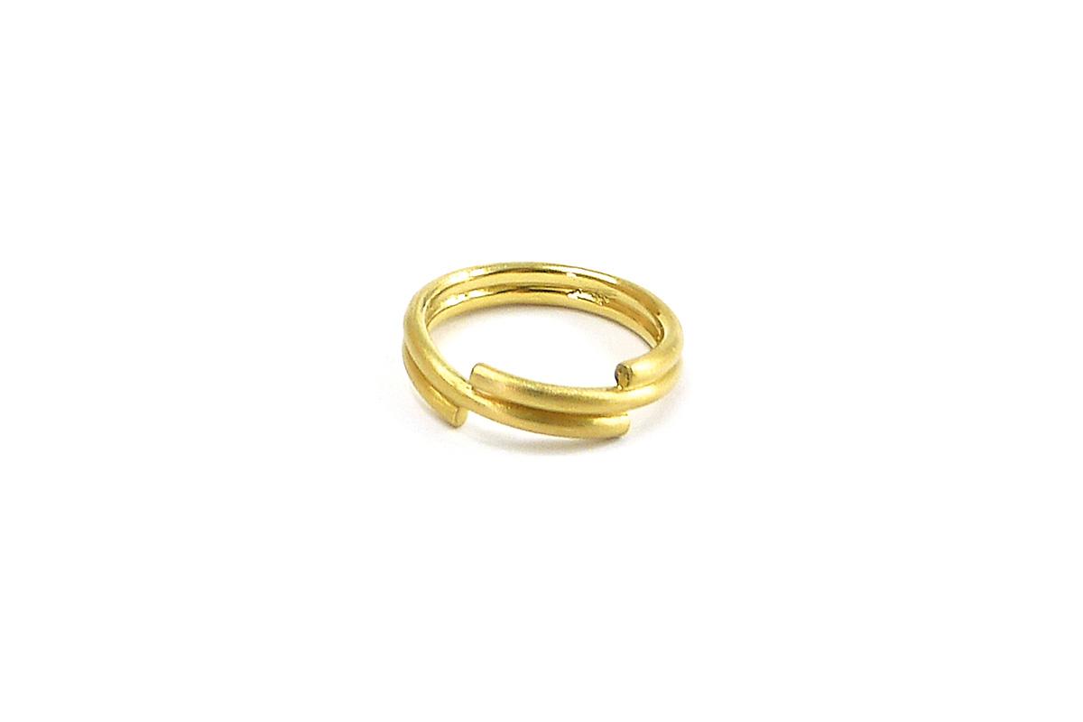 WeddingRing_Spiral_YG.750°°°