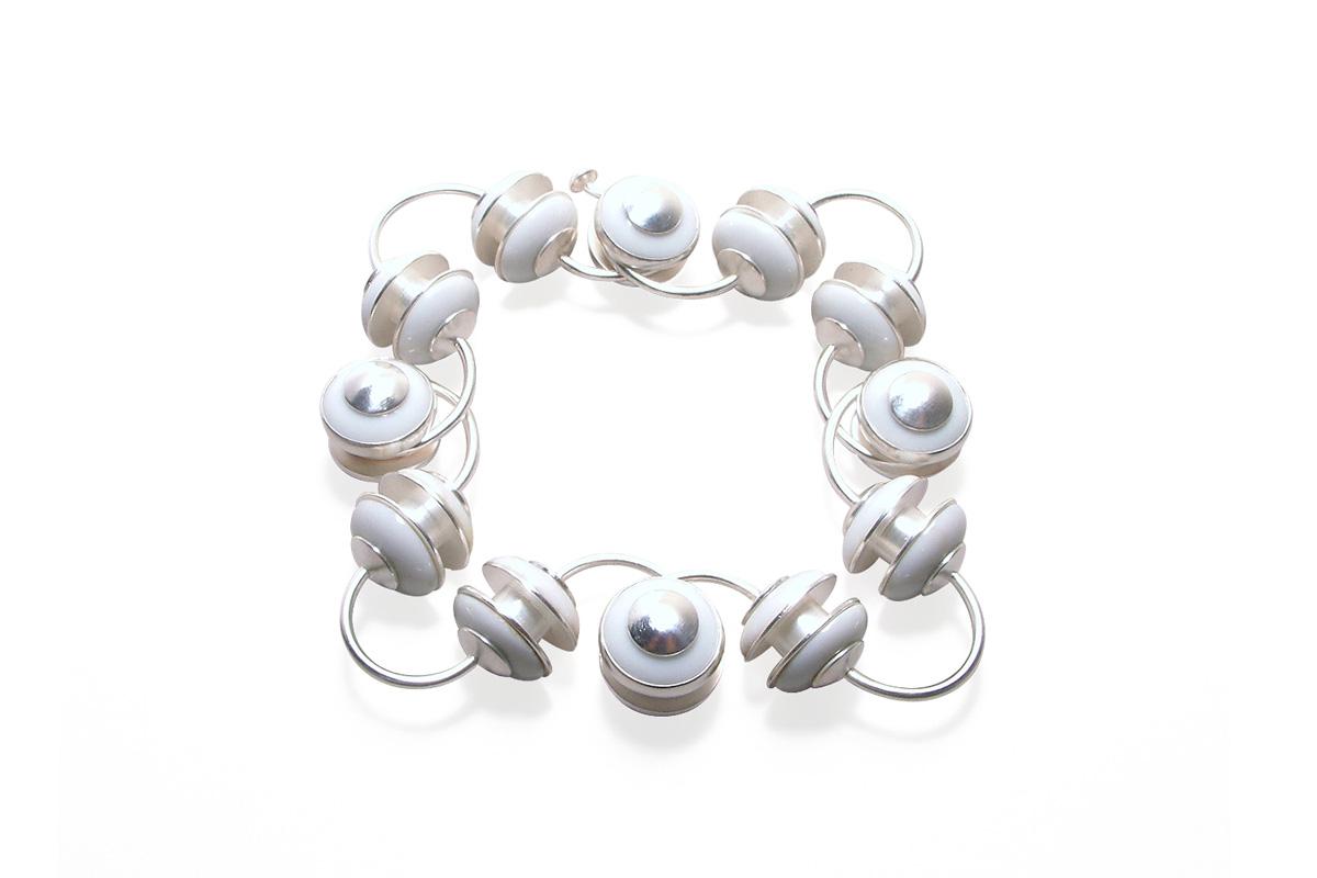 Bracelet_Voltage_Porcelain_Silver925ººº