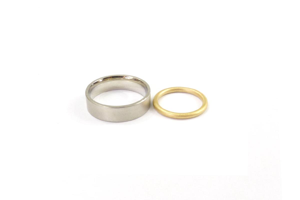 WeddingRing_Bi.Color.Fino_YG750°°°_WG750°°°_1